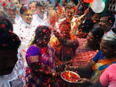 Telangana governor Tamilisai Soundararajan visits Tamil Nadu