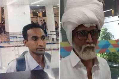 Delhi Airport,Man Impersonates 81-year-old,Ahmedabad Man