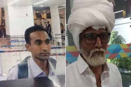 Delhi Airport,Man Impersonates 81-year-old,Ahmedabad Man