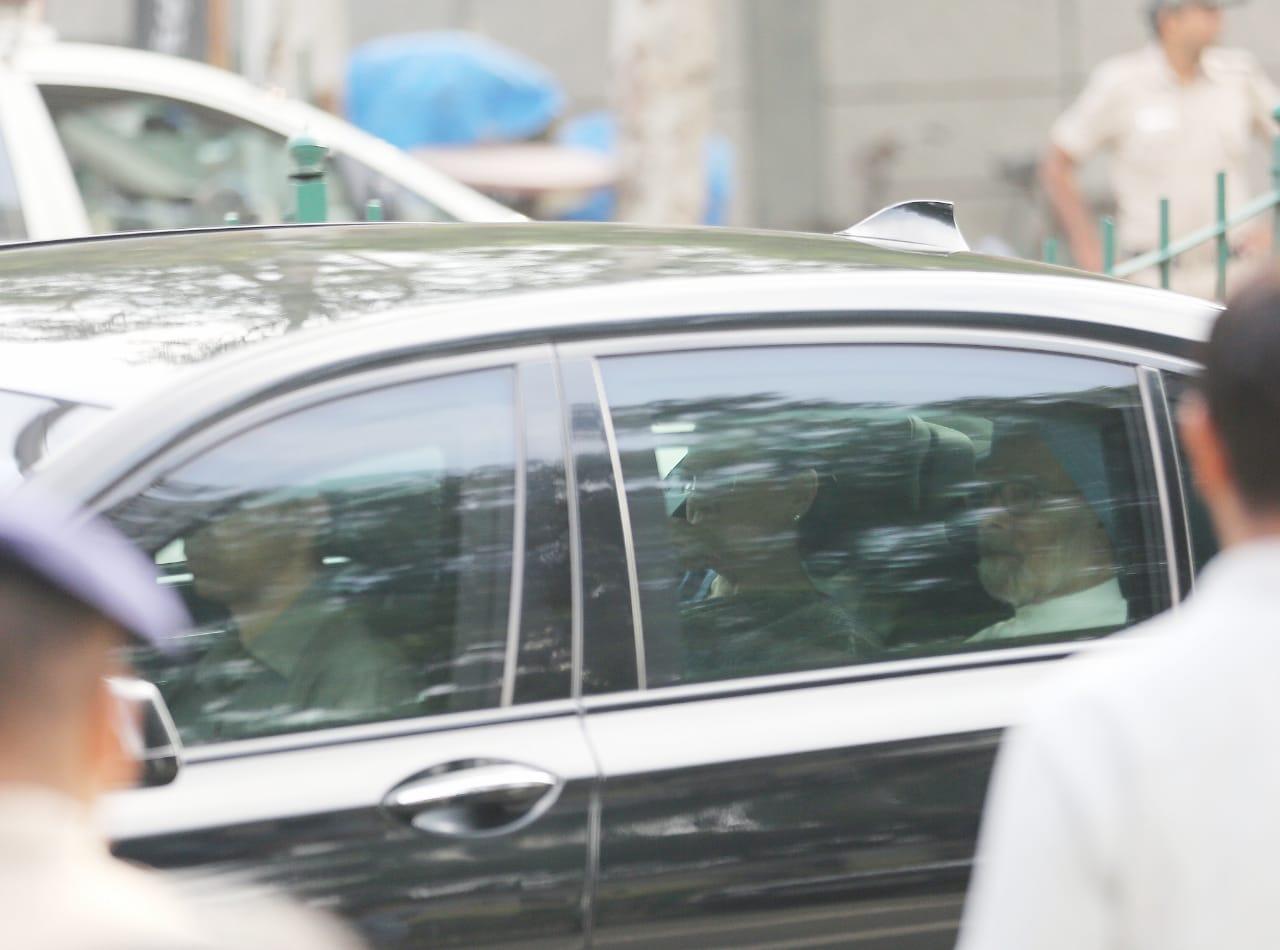 soniya gandhi leaves tihar jail