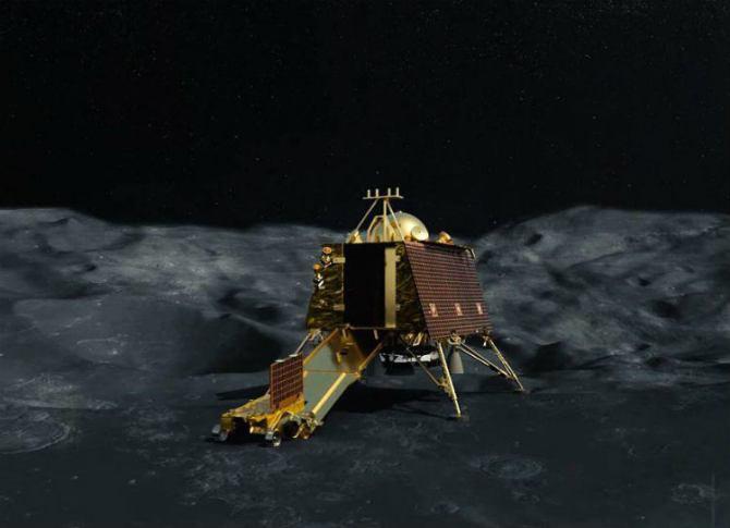 Chandrayaan 2 Landing On Moon