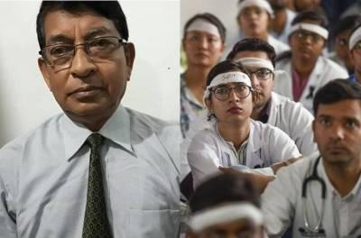 Assam doctors strike Dr Deban Dutta died
