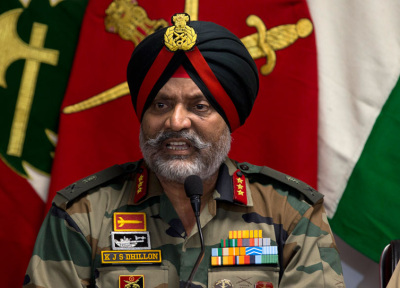 Jammu Kashmir bifurcation issue joint press conference, Gen. K.J.S. Dhillon