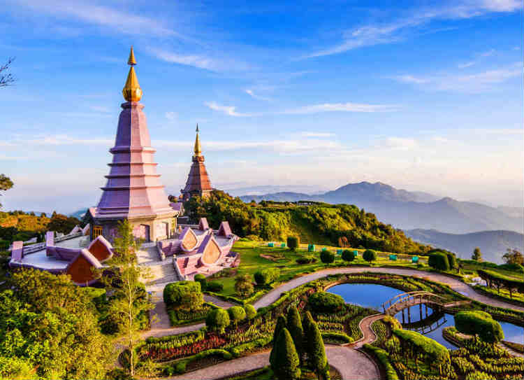 Thailand - countries which doesn't require visa from india