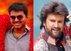 Vijay Rajinikanth fans against ajith