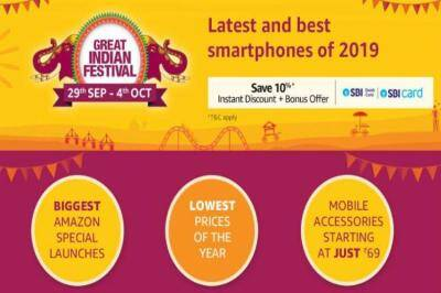 Flipkart Big Billion Days, Amazon Great Indian Festival - mobile , TV,Audio device Discounts