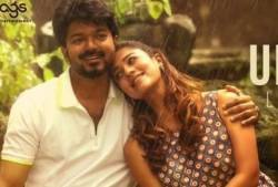 thalapathi vijay bigil songs video lyric, thalapathi vijay nayanthara bigil songs, பிகில், உனக்காக பாடல்