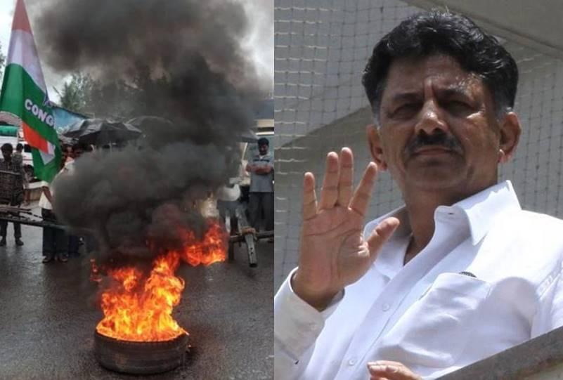 Karnataka former minister DK Shivakumar detained by ED