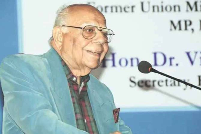Veteran lawer and former union minister Ram Jethmalani Passed away