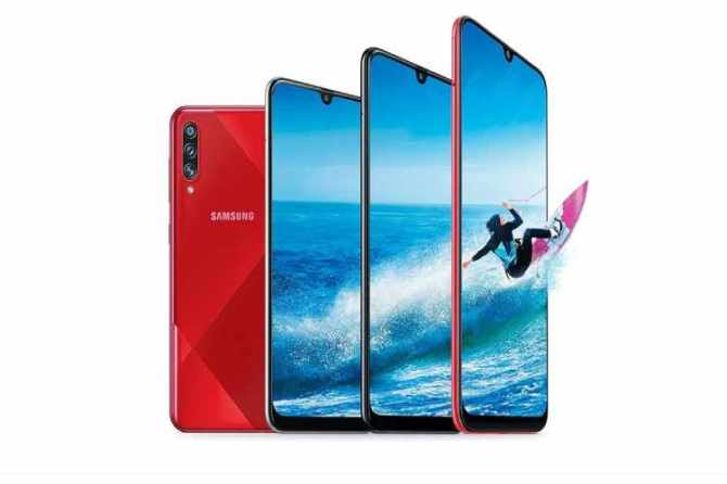 Samsung Galaxy A70s mid range smartphone specifications