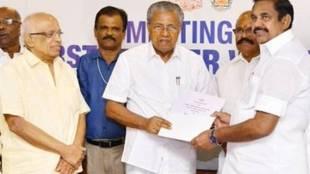 Edappadi K Palaniswami, kerala, Pinarayi Vijayan, tamil nadu Kerala chief ministers meeting