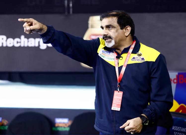 Tamil Thalaivas coach baskaran resigned pro kabaddi league 2019 - தொடரும் தோல்வி - தமிழ் தலைவாஸ் பயிற்சியாளர் பாஸ்கரன் விலகல்!