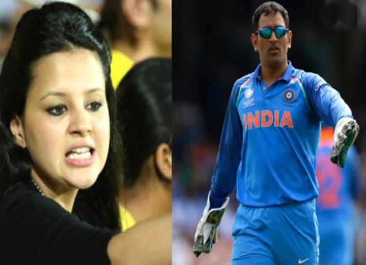 sakshi tweet about dhoni retirement - தோனி ஓய்வா? - மூன்று வார்த்தைகளில் முற்றுபுள்ளி வைத்த சாக்ஷி