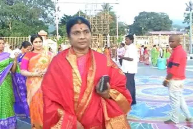 Durga Stalin Tirupati Visit