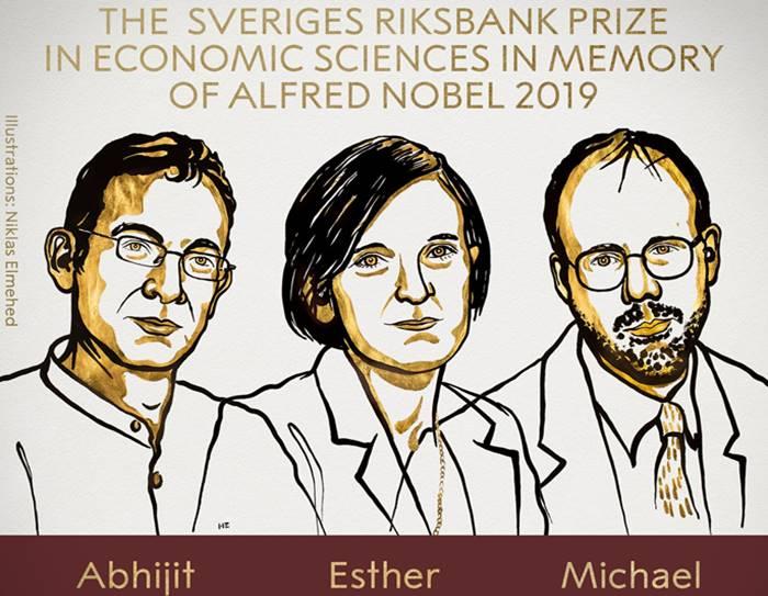 Nobel Prize 2019 Economics : why Abhijit Banerjee, Esther Duflo and Michael Kremer won