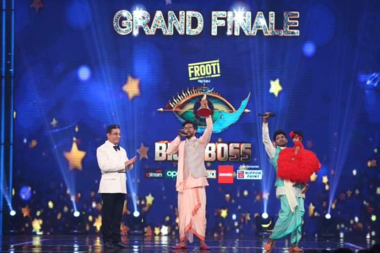 Bigg Boss Tamil Season 3 - பிக் பாஸ் சீசன் 3 டைட்டிலை வென்றார் முகேன்