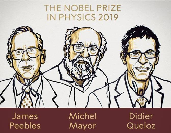 Nobel Prize 2019 for physics awarded to 3 scientists