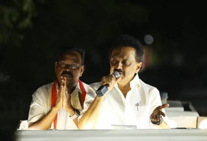 Nanguneri Vikravandi by-elections dmk admk election campaigns roundup, MK Stalin