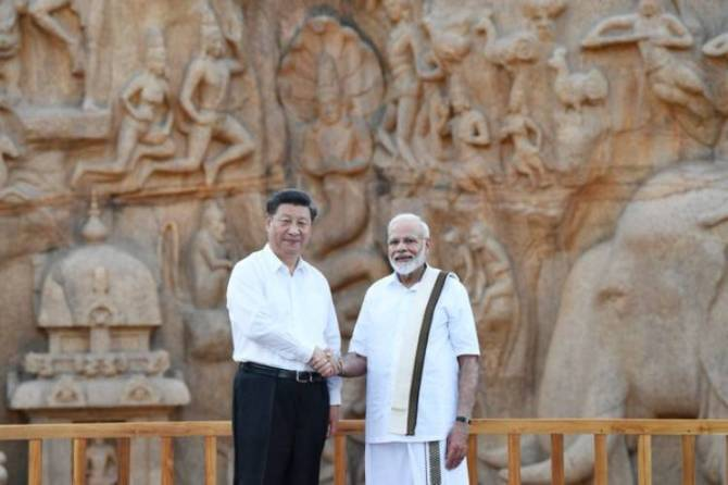 PM mamallapuram poem Tamil Translataion , mamalapuram china president visit