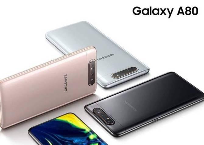Samsung Galaxy A80 smartphones get price cut