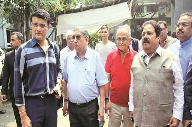 icc president, n srinivasan, bcci, sourav ganguly, indian express