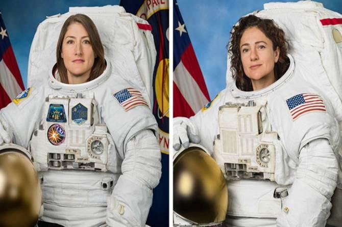 Nasa female spacewalk