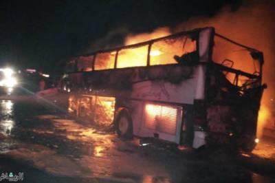Saudi Bus Accident