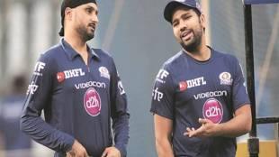 rohit calls harbhajan to bowl for india ind vs sa 1st test score updates - 'இந்தியாவுக்காக பந்து வீச வாருங்கள் ஹர்பஜன்' - ரோஹித் ஷர்மா ஜாலி வேண்டுகோள்