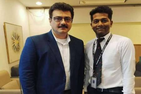 ajith new looks