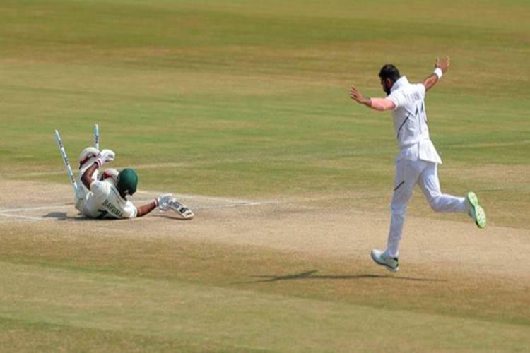 mohammed shami ind vs sa 1st test cricket shami wickets - முகமது ஷமி - இரண்டாம் இன்னிங்ஸில் எதிரணியை சீர்குலைக்கும் ஓர் பந்து