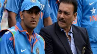 Coach Ravi shastri about ms dhoni bcci - 'உலகக் கோப்பைக்கு பிறகு தோனியை நான் சந்திக்கவில்லை' - கோச் ரவி சாஸ்திரி