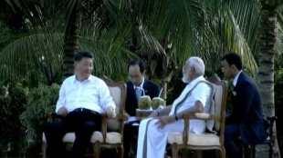 Modi - Xi Jinping Chennai
