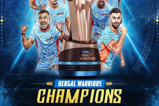 pro kabaddi league final 2019 dabang delhi vs bengal warriors live streaming - Pro Kabaddi Final 2019: முதல்முறை கோப்பையை வெல்லப் போவது யார்? தலைநகரமா, வங்கமா?