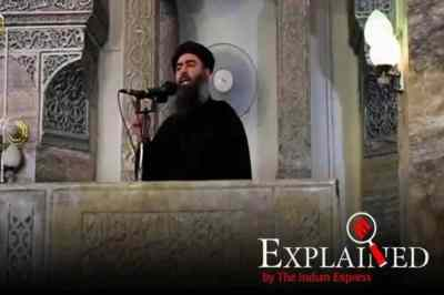 Abu Bakr al-Baghdadi, who is Abu Bakr al-Baghdadi, baghdad dead, Donald trump announcement, Abu Bakr al-Baghdadi isis head, killing Abu Bakr al-Baghdadi, அபுபக்கர் அல் பாக்தாதி, அமெரிக்கா, ஐ.எஸ்.ஐ.எஸ். தலைவர் அபுபக்கர் அல் பாக்தாதி, சிரியா, ஈராக், America, United STate of America, Islamic State, ISIS chief dead, ISIS, Explained news, Tamil Indian Express
