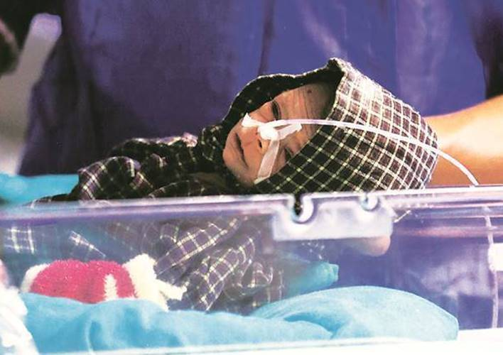 Bareilly girl infant buried and found alive