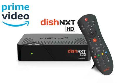 Dish TV Hybrid Set-Top box Dish TV partnership with Amazon Prime Video