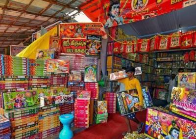 Diwali 2019 1000 temporary firecrackers shops