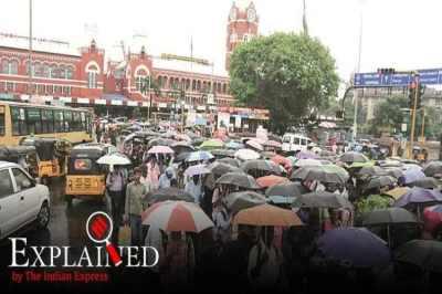 northeast monsoon rain, indian monsoon, imd, chennai monsoon, el nino effect in india, express explained