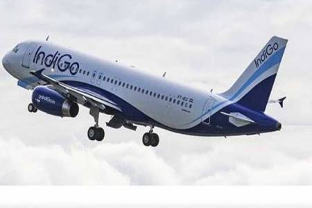 indigo flight, Trichy to Hyderabad
