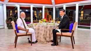 Modi - Xi Jinping Chennai -