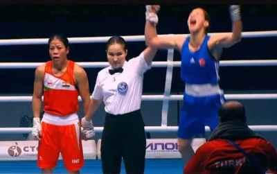 mc mary kom, world women's boxing championship 2019, மேரி கோம், மேரி கோம் தோல்வி, பெண்கள் குத்துச்சண்டைப் போட்டி