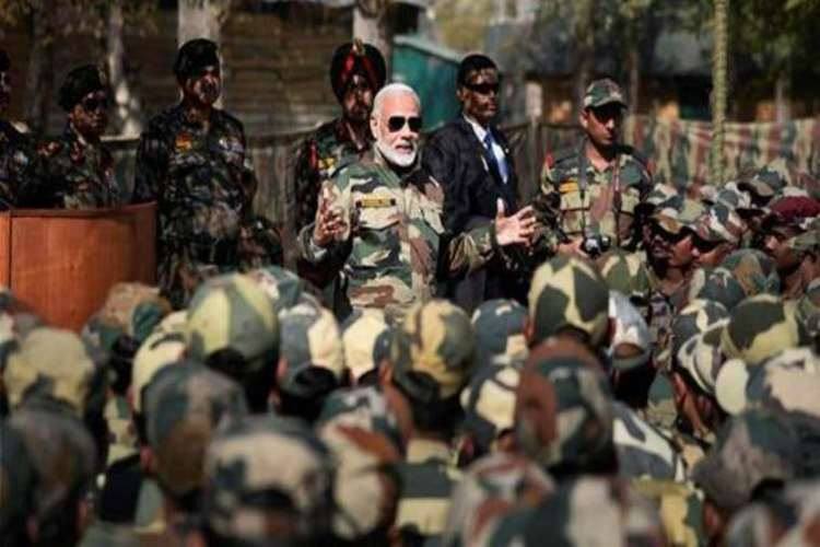 PM Modi reaches J&K's to celebrate Diwali with Army jawans