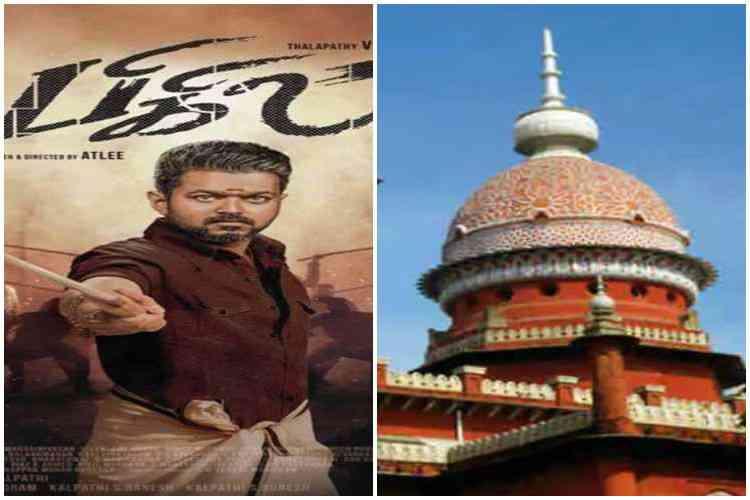 chennai high court, bigil, bigil movie, vijay, director atlee, case, deepavali, ban