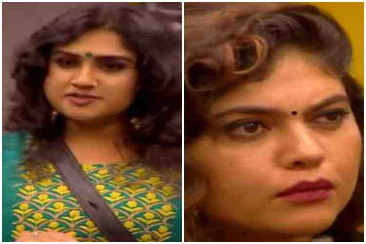 biggboss, vanitha, sherin, sakshi, kasthuri, cheran, losliya, kamalhaasan, vijay tv, promo