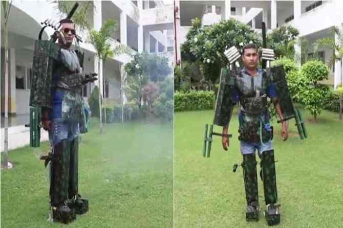 iron man, iron man suit, iron man indian suit, Sasta Tony Stark,tony stark, டோனி ஸ்டார்க், அயர்ன் மேன், அவெஞ்சர்ஸ் எண்ட் கேம், சாஸ்தா டோனி ஸ்டார்க், indian man iron man suit, viral videos, funny videos, trending, Tamil indian express