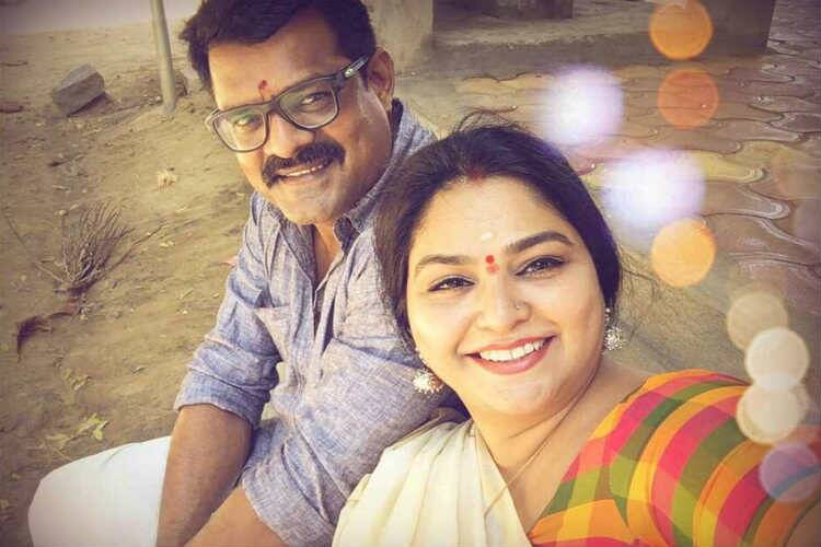 Tamil serial real couples, Bose Venkat - Sonia Bose