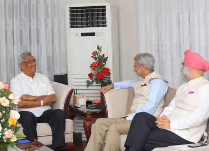 Gotabaya Rajapaksa meeting with S Jaishankar