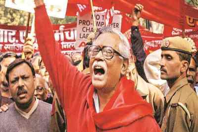 Gurudas Dasgupta : champion of people's rights.தோழர் குருதாஸ் தாஸ்குப்தா