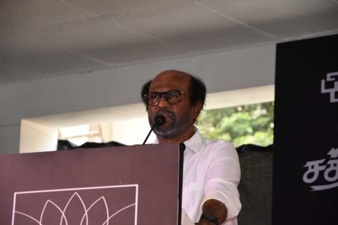 Tamil news updates : rajnikanth meet people after Darbar