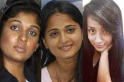 Tamil cinema heroins without makeup